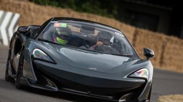 McLaren 600LT - Goodwood hillclimb