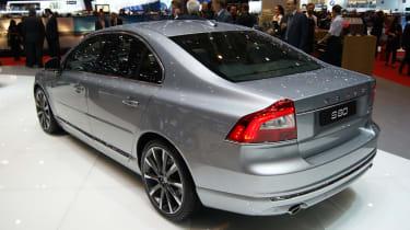 Volvo S80 rear