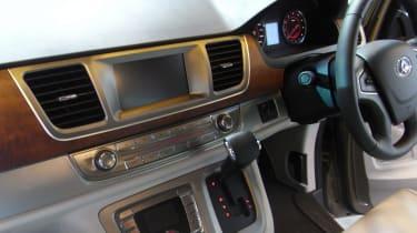 LDV G10 MPV CV Show - interior