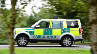 Ambulance feature - Land Rover Discovery