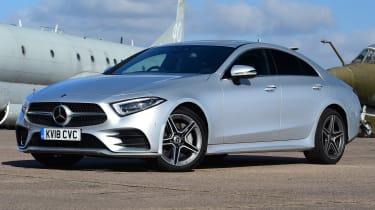 Mercedes CLS front quarter static
