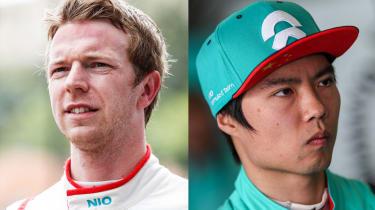 NIO 333 FE Team drivers 2019/2020