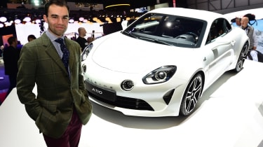 Alpine A110 - James Batchelor's Geneva Motor Show star