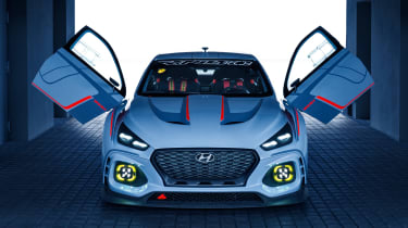 Hyundai RN30 Concept - doors open 2