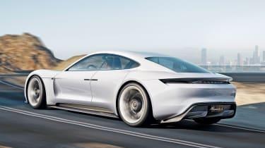 Porsche Mission E concept - rear
