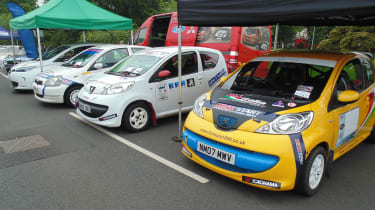 Coventry Motofest 2016 - small rally cars