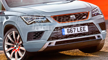 SEAT Ateca Cupra - exclusive pictures front detail