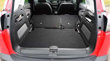 Vauxhall Crossland X - boot seats folded