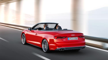 New Audi S5 Cabriolet 2017 driving