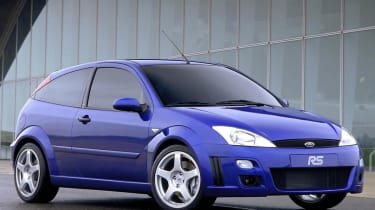 Ford Focus RS Mk1: 2002 - 2003