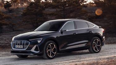 Audi e-tron Sportback - front action