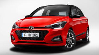Hyundai i20 facelift - front static