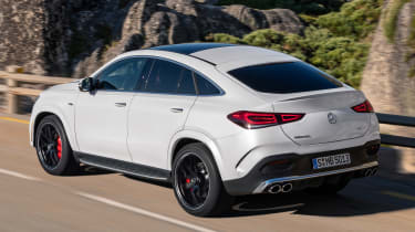 Mercedes-AMG GLE 53 Coupe - rear tracking