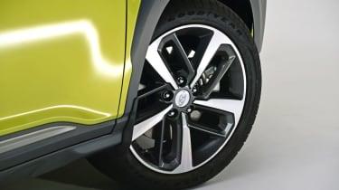 Hyundai Kona studio - wheel