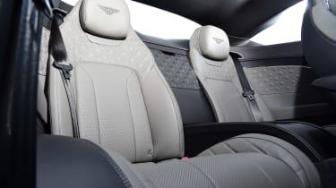 Bentley Continental GT V8 - rear seats