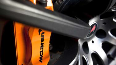 McLaren MP4-12C review brakes