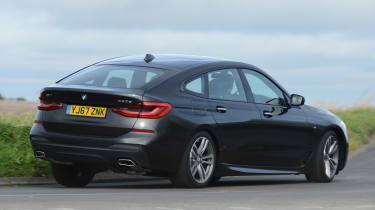 Used BMW 6 Series GT - rear action