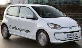 Volkswagen Twin up! action