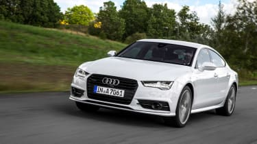 Audi A7 Ultra front