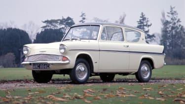 Ford Anglia white