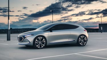 Mercedes EQA concept - side static
