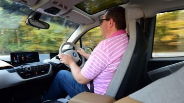 Long-term test review: BMW i3 REx John driving