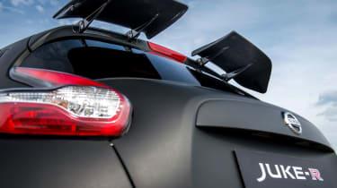 Nissan Juke-R rear boot
