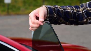 Audi A7 Sportback - window
