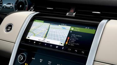Land Rover Discovery Sport - sat-nav