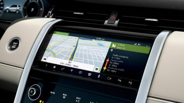 Land Rover Discovery Sport - sat-nav