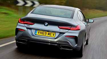 BMW M850i xDrive Gran Coupe - rear tracking