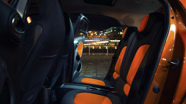 Used Smart ForFour - rear seats