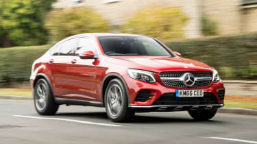 Mercedes GLC 250d Coupe - front