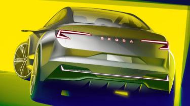 Skoda Vision iV concept - rear