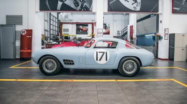 Ferrari Classiche - side shot