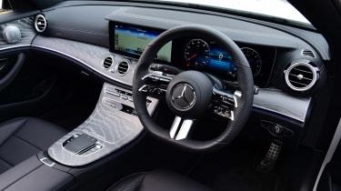 Mercedes E-Class - cabin