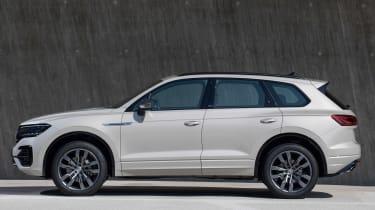 VW Touareg One Million - side