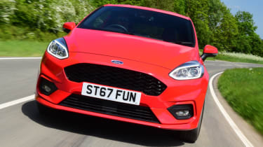 Ford Fiesta ST-Line grille