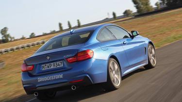 BMW 435i rear action