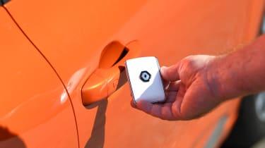 Renault Clio Long termer - key