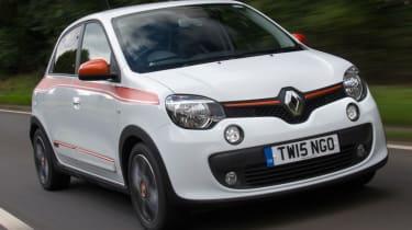Triple test –Renault Twingo - front quarter