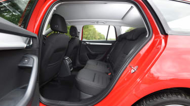 Skoda Octavia Estate 1.5 TSI - rear seats