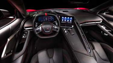 Chevrolet Corvette - dash