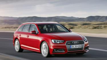 Audi A4 Avant - front driving