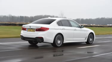 BMW 520d - rear