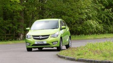 Vauxhall Viva 2015 - cornering