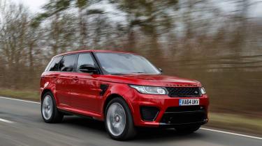 Range Rover Sport SVR - driving