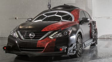Nissan Star Wars cars - front quarter