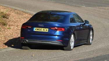 Audi A5 - rear cornering