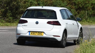 Long-term test - VW e-golf - rear corner